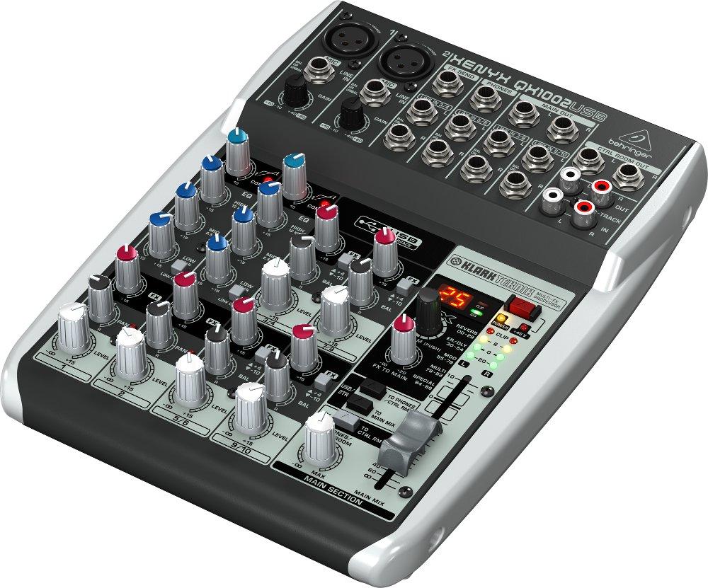 Пульт Behringer Xenyx QX1002USB концертные акустические системы behringer b1520pro