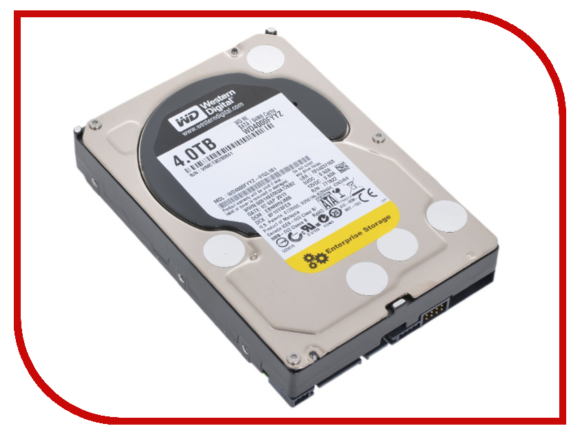 Жесткий диск 4Tb - Western Digital RE WD4000FYYZ