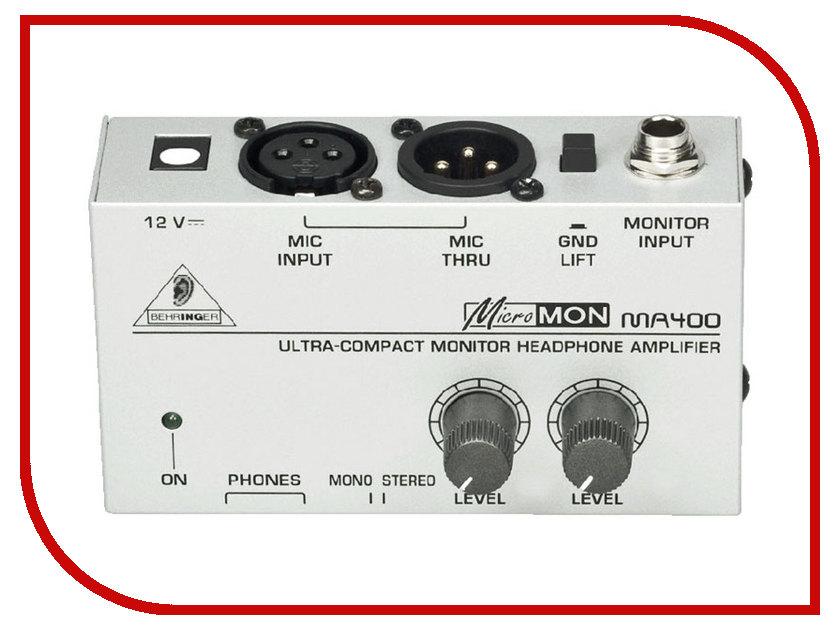 Усилитель Behringer MA400 Micromon стоимость