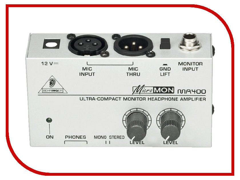 Усилитель Behringer MA400 Micromon