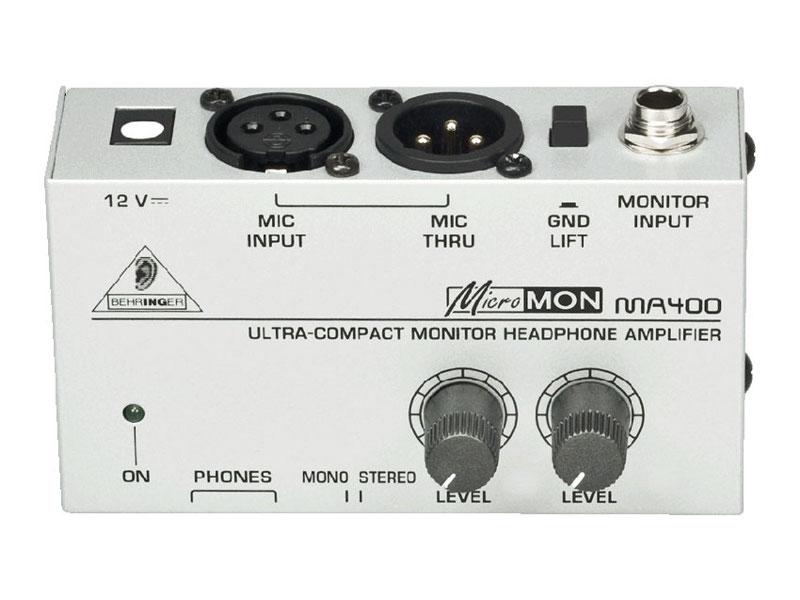 Усилитель Behringer MA400 Micromon концертные акустические системы behringer b1520pro
