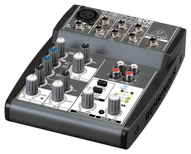 Пульт Behringer Xenyx 502 концертные акустические системы behringer b1520pro