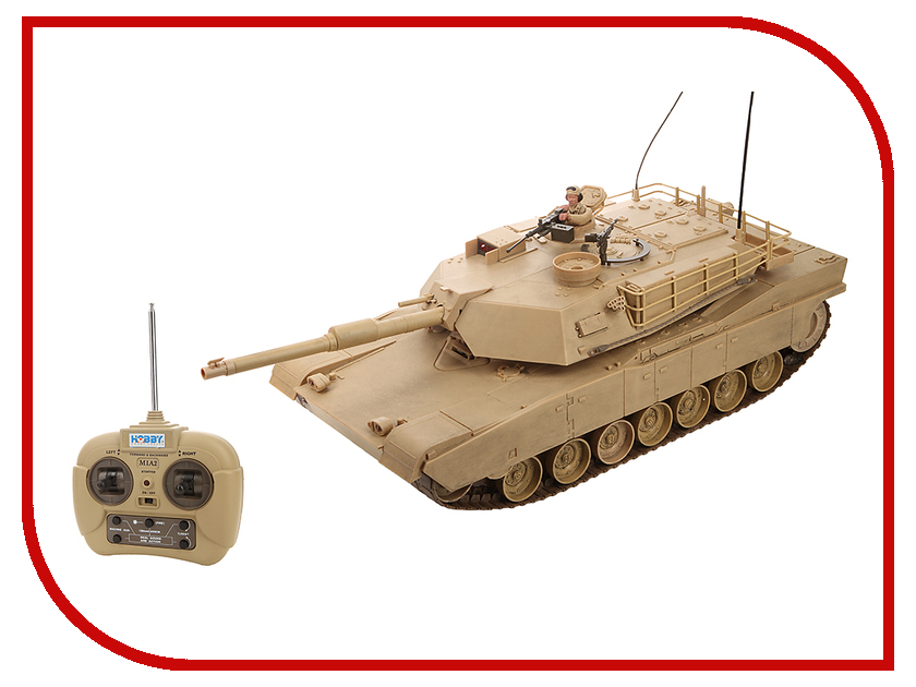Радиоуправляемая игрушка Hobby Engine Танк М1А1 Абрамс 0817-T