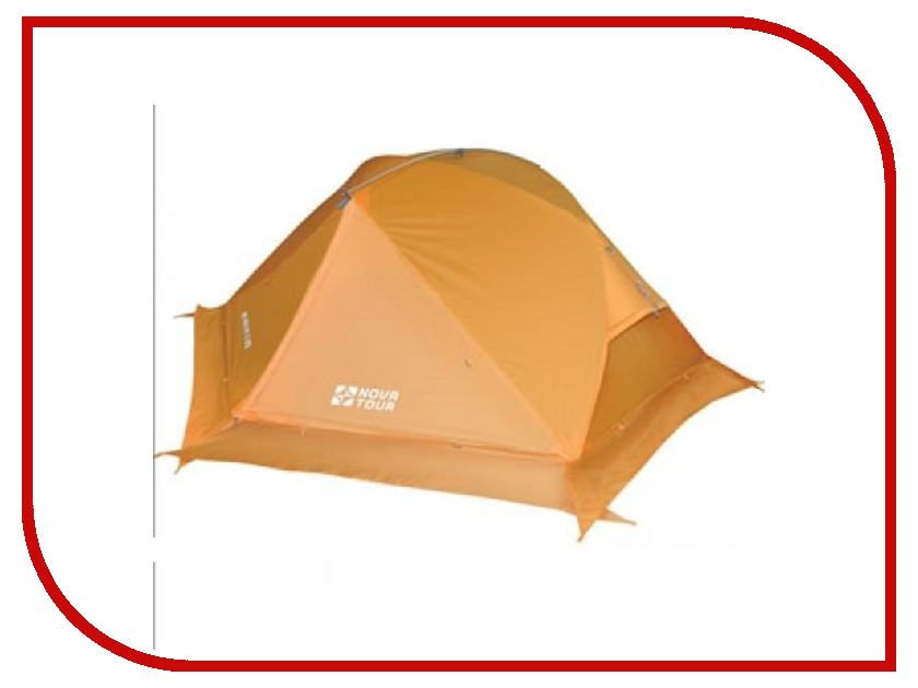 Палатка Nova Tour Ай Петри 2 V2 Orange 95414-207-00