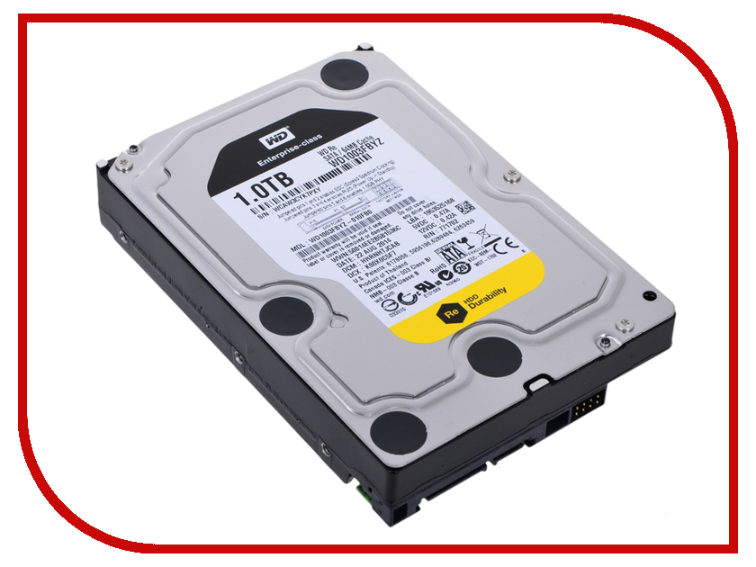 Жесткий диск 1Tb - Western Digital WD1003FBYZ жесткий диск 1tb western digital wd1005fbyz