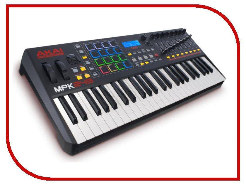 цена на MIDI-клавиатура AKAI pro MPK249 USB