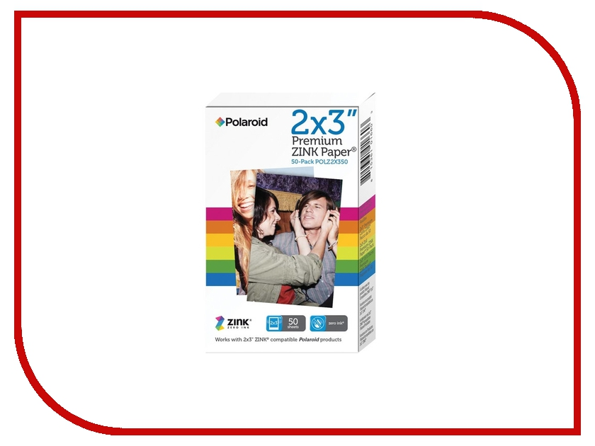 Polaroid M230 2x3 50-Pack для Z2300 / Socialmatic / Zip / Snap