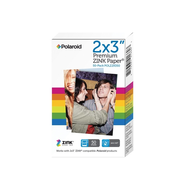 Фото - Polaroid Zink M230 2x3 50-Pack для Z2300 / Socialmatic / Zip / Snap zip detail faux leather skirt