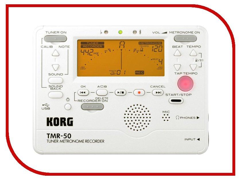Метроном KORG TMR-50-PW<br>