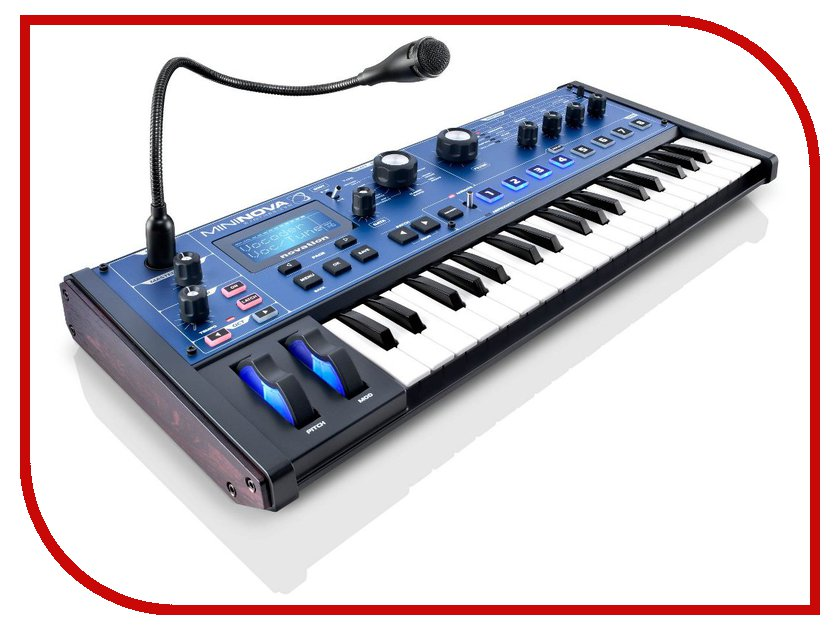 Синтезатор Novation MiniNova<br>