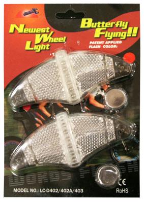 Светодиодный катафот Espada Wheel Light LC-D402 On 5 LED