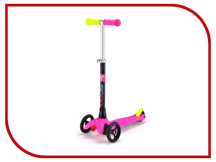 Самокат Y-SCOO Mini Glam RT Pink<br>