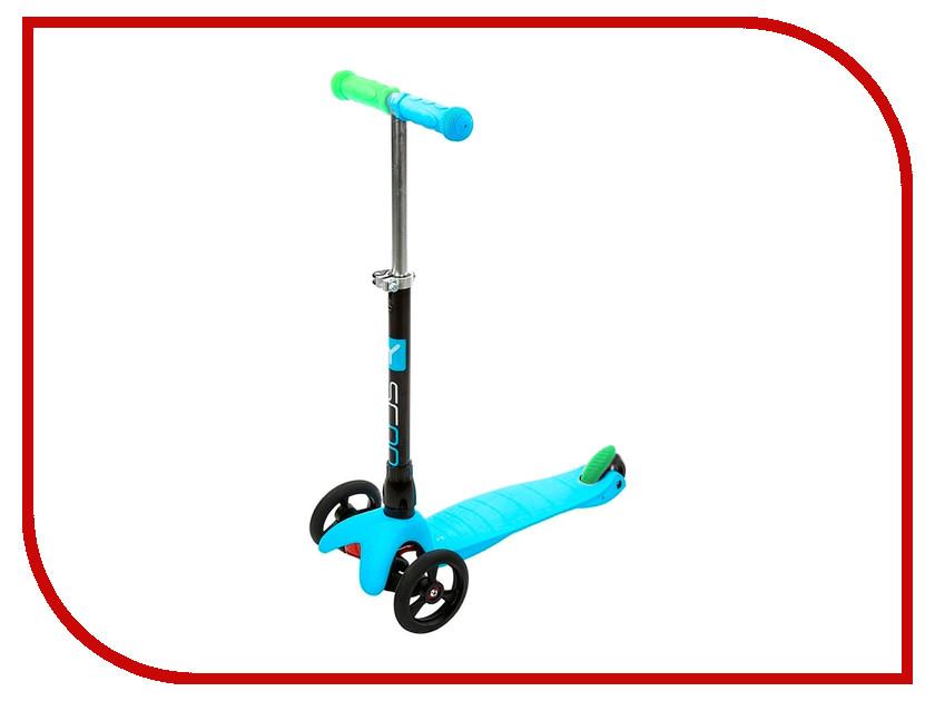 Самокат Y-SCOO Mini Glam Metallic RT Light Blue y scoo mini glam купить