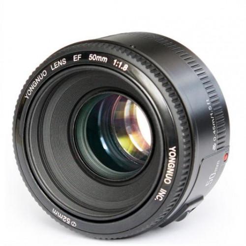 Фото - Объектив YongNuo Canon AF 50 mm F/1.8 объектив