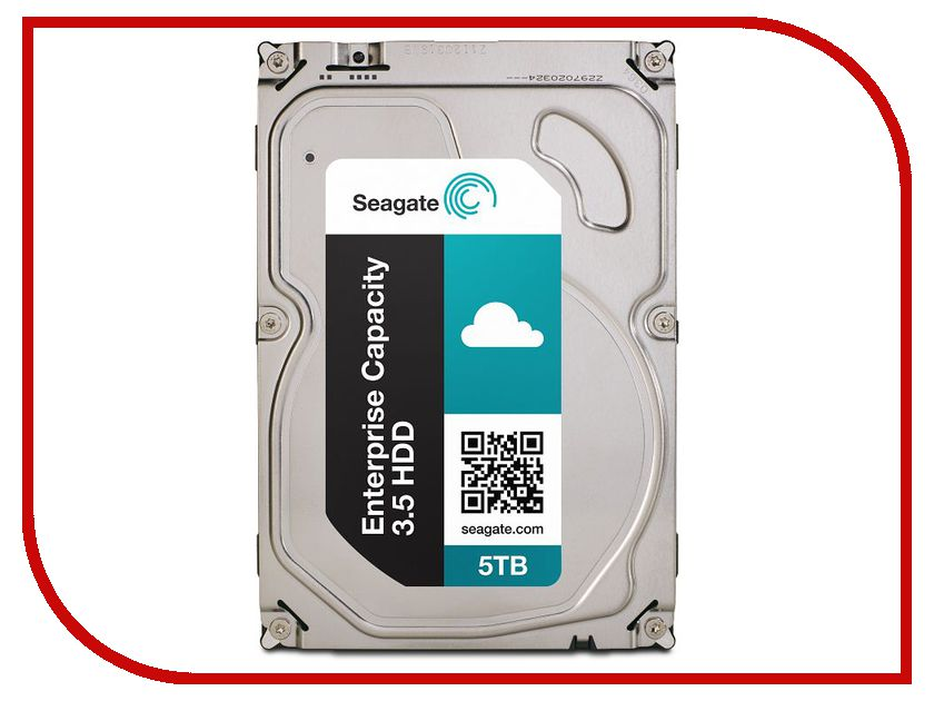 Жесткий диск 5Tb - Seagate Enterprise Capacity 3.5 HDD ST5000NM0024 жесткий диск 5tb seagate enterprise capacity 3 5 hdd st5000nm0024