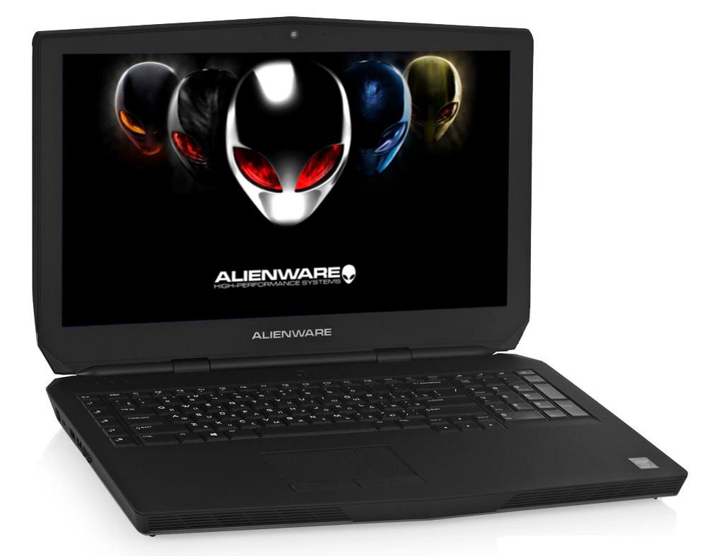 Ноутбук Dell Alienware 17 R2 A17-8802 Intel Core i7-4710HQ 2.5 GHz/8192Mb/1000Gb/No ODD/nVidia GeForce GTX 970M 3072Mb/Wi-Fi/Bluetooth/Cam/17.3/1920x1080/Windows 8.1 64-bit 284511<br>