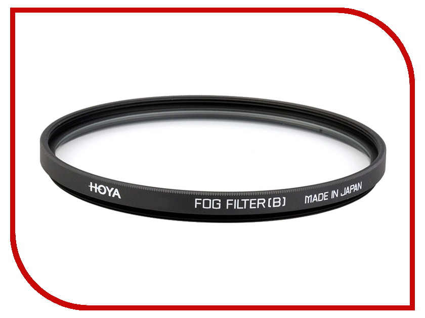 Светофильтр HOYA Fog B 52mm 76077 светофильтр hoya half nd x4 52mm 76082