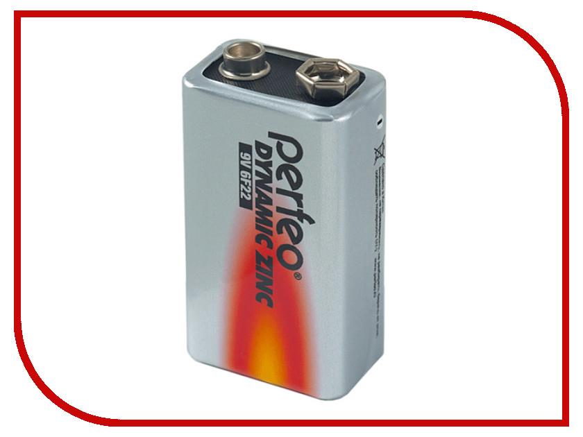 Батарейка Perfeo 6F22/1SH Dynamic Zinc