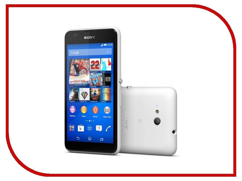 Сотовый телефон Sony E2033 Xperia E4g Dual White<br>