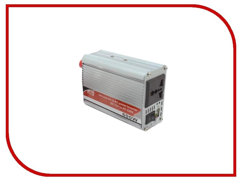 Автоинвертор AVS IN-600W 43112 с 12В на 220В автоинвертор avs in 2210 220в на 12в a80980s
