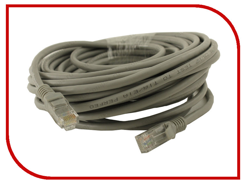 Сетевой кабель Perfeo UTP cat.5e RJ-45/M - RJ-45/M 10м. P6007