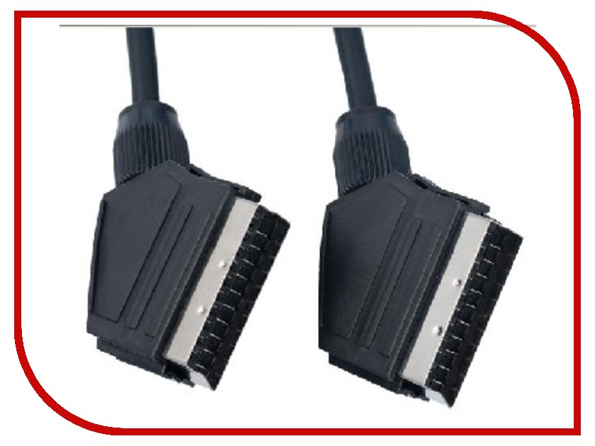 Аксессуар Perfeo SCART (21 PIN)/M-SCART(21 PIN)/M 3м S8002<br>