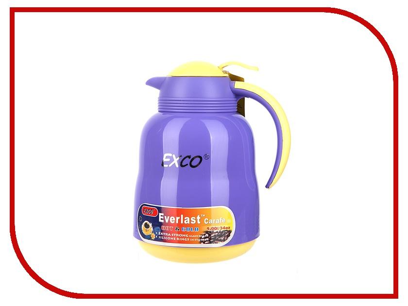 Термос EXCO EL100B 1L Violet-Yellow