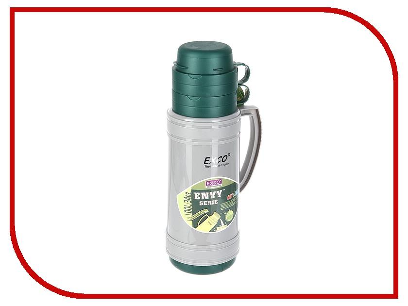 Термос EXCO EN100 1L Gray-Green