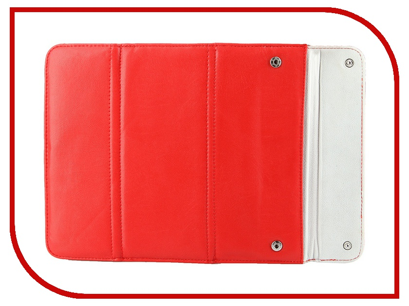 Аксессуар Чехол IT Baggage для iPad 2 / iPad 3 / iPad 4 Red ITIP2B01-3