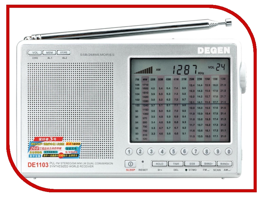 ������������� Degen DE-1103