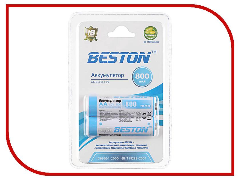 Аккумулятор AA - BESTON 800 mAh NiCd (2 штуки)<br>
