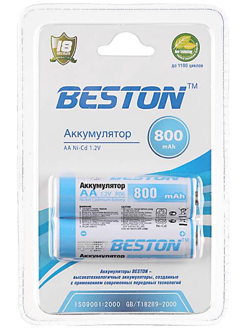 Аккумулятор AA - BESTON 800 mAh NiCd (2 штуки)