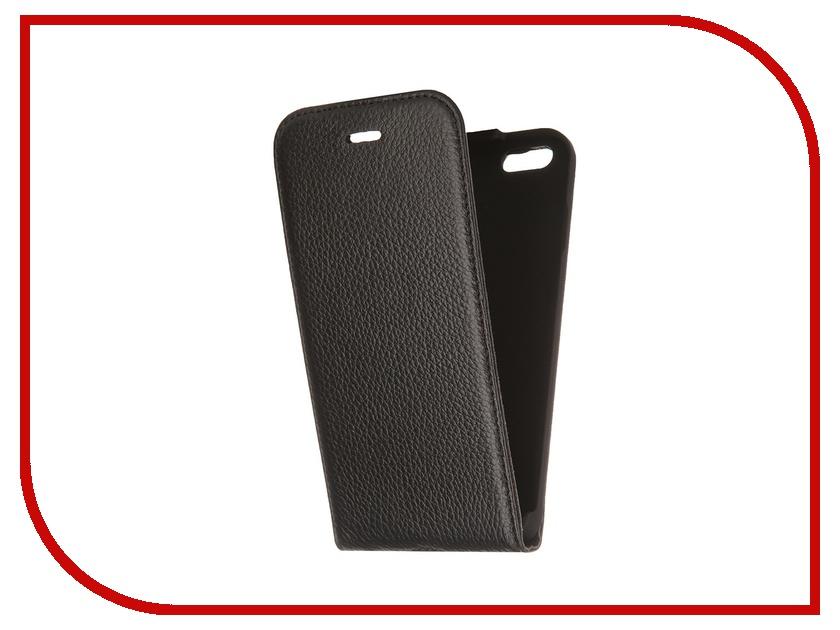 Аксессуар Чехол Deppa Flip Cover для iPhone 6 Black 81034<br>