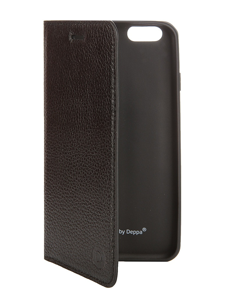 ��������� ����� Deppa Wallet Cover ��� APPLE iPhone 6 Black + �������� ������ 84062