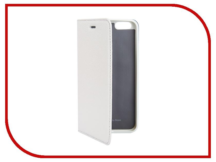 Аксессуар Чехол Deppa Wallet Cover для iPhone 6 White 84063<br>