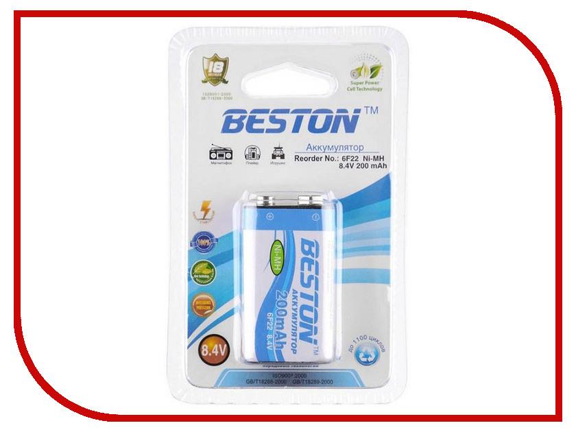Аккумулятор КРОНА BESTON 6F22 8.4V 200 mAh NiMH BL1<br>