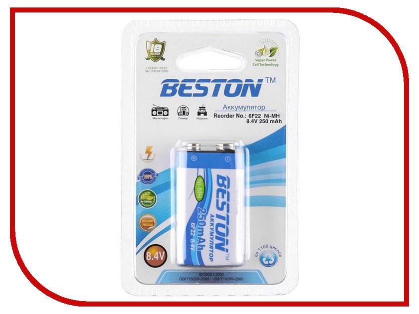 Аккумулятор КРОНА BESTON 6F22 8.4V 250 mAh NiMH BL1<br>