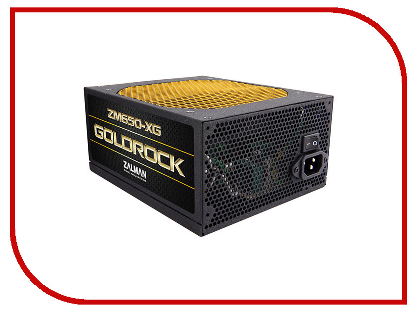 Блок питания Zalman Plus Gold ZM650-XG 650W