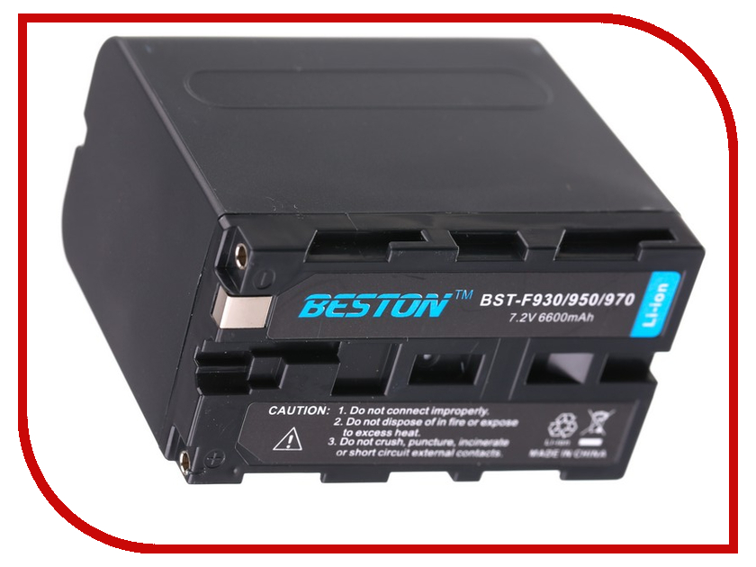 ����������� BESTON BST-NP-F930/950/970 6600 mAh