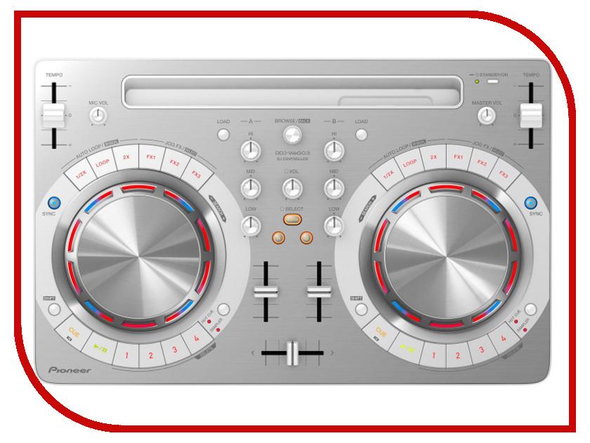 MIDI-контроллер Pioneer DDJ-WEGO3-W White