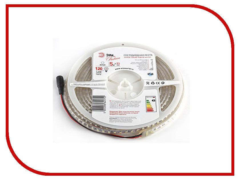 Светодиодная лента Эра LS3528 120LED IP68 5m 641712 W-eco<br>