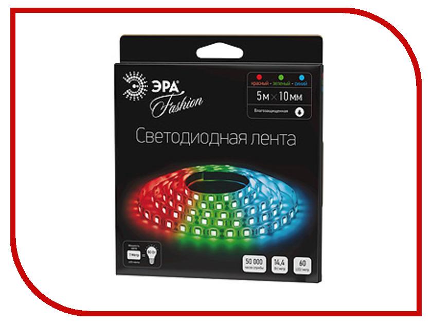 Светодиодная лента Эра LS5050 60LED IP65 5m 635544 RGB W<br>