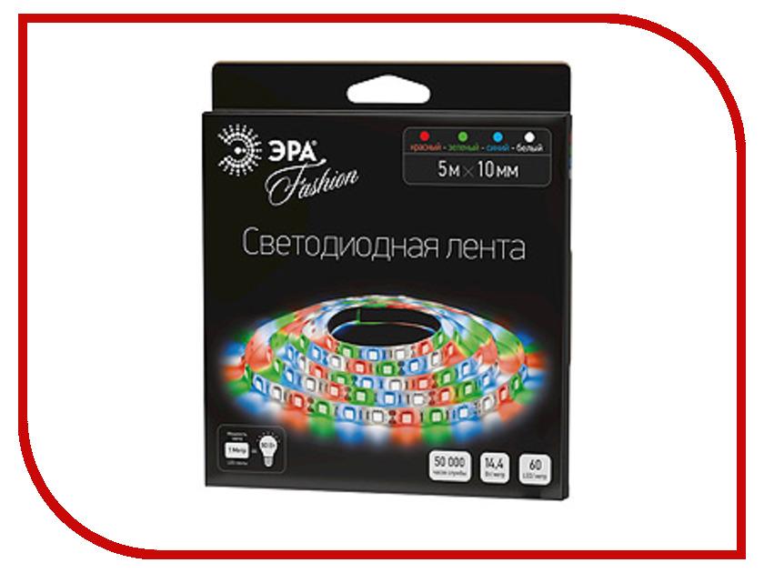 Светодиодная лента Эра LS5050 60LED IP20 5m 635537 RGB W<br>