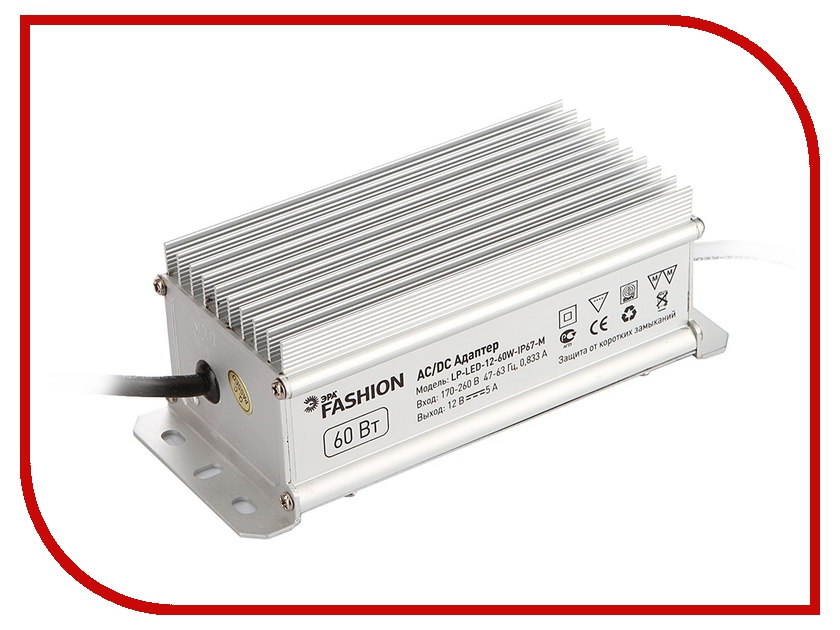 Блок питания Эра LP-LED-12-60W-IP67-M 628003<br>