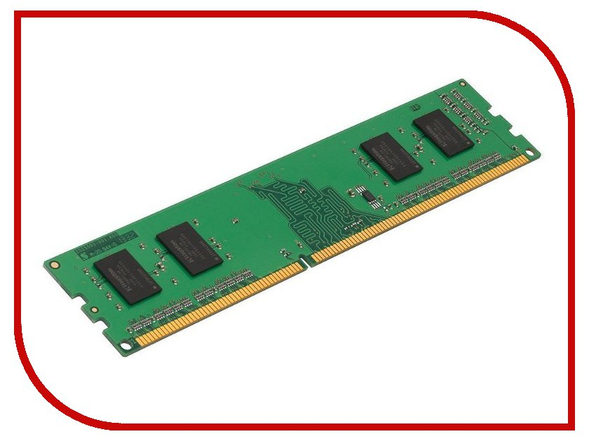 Модуль памяти Kingston DDR3 DIMM 1600MHz PC3-12800 CL11 - 2Gb KVR16N11S6/2 модуль памяти patriot memory ddr3l so dimm 1600mhz pc3 12800 cl11 2gb psd32g1600l2s