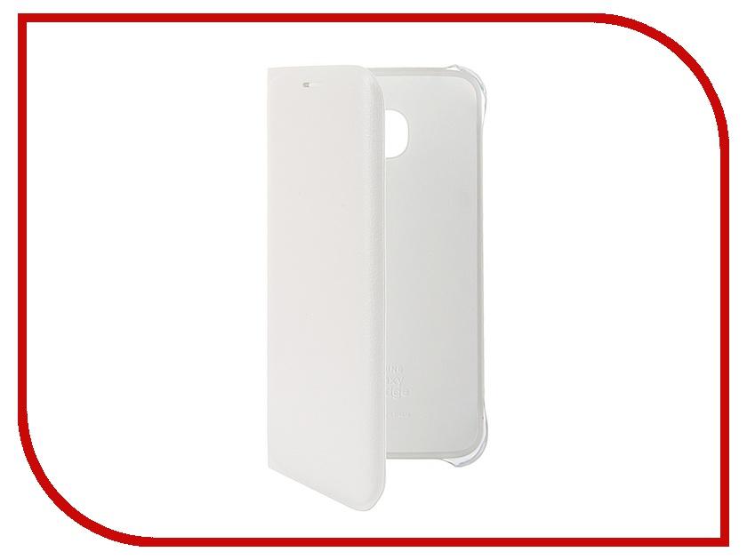 Аксессуар Чехол Samsung SM-G925 Galaxy S6 Edge Flip Wallet PU White EF-WG925PWEGRU<br>