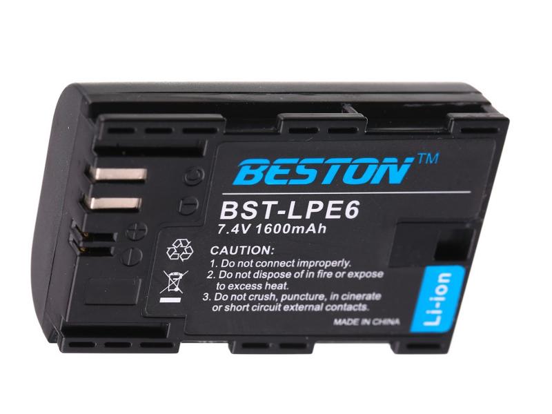 Аккумулятор BESTON BST-E6-H