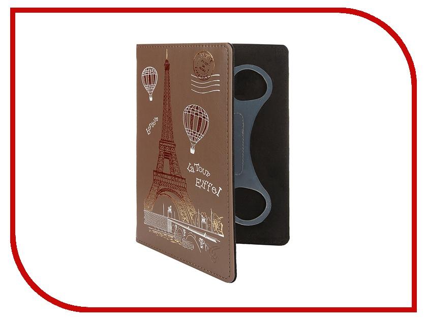 Аксессуар Чехол 7.0-inch VIVACASE Paris универсальный Brown VUC-CPR07-br<br>