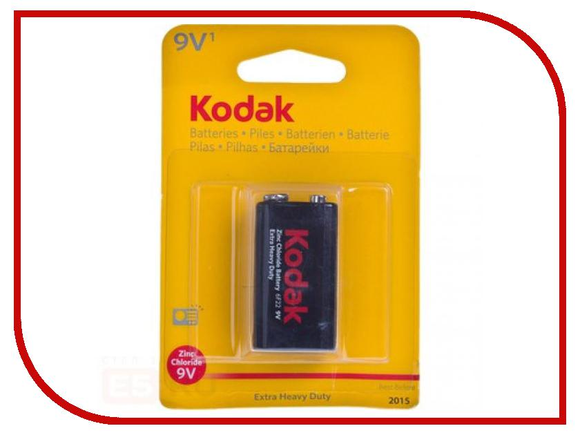 Батарейка КРОНА Kodak HEAVY DUTY 6F22 9V BL1<br>