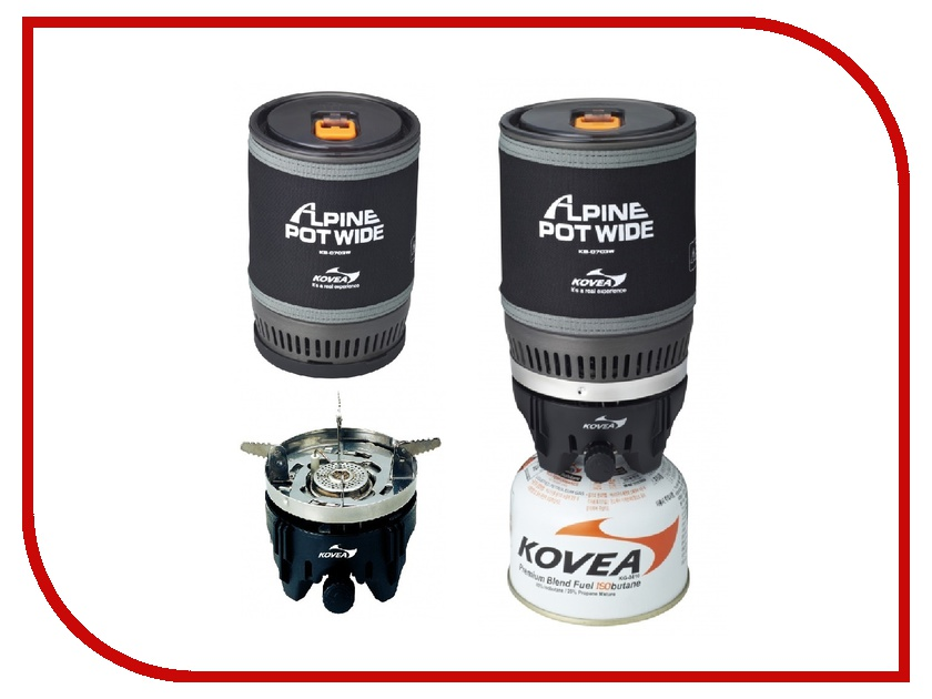 Горелка Kovea Alpin Pot WIDE KB-0703W<br>